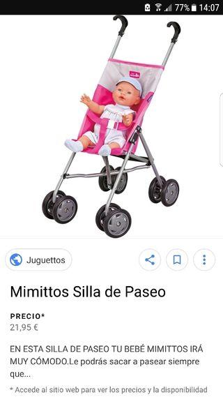 silla de paseo juguettos