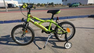 Hermosa bicicleta de niño o niña orbea