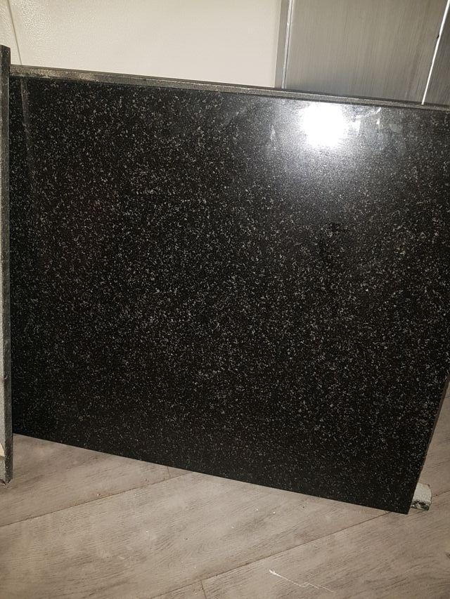 Barra granito Galaxy Star Negro