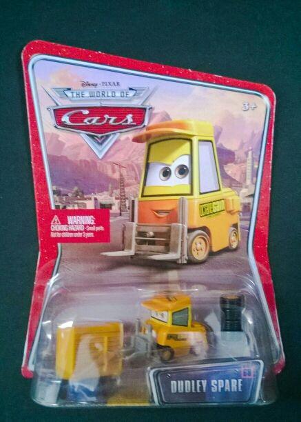 Coche Dudley Spare de Cars Disney Pixar