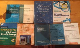 Libros ADE UPV