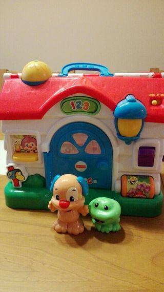 Casa juguete Fisher Price