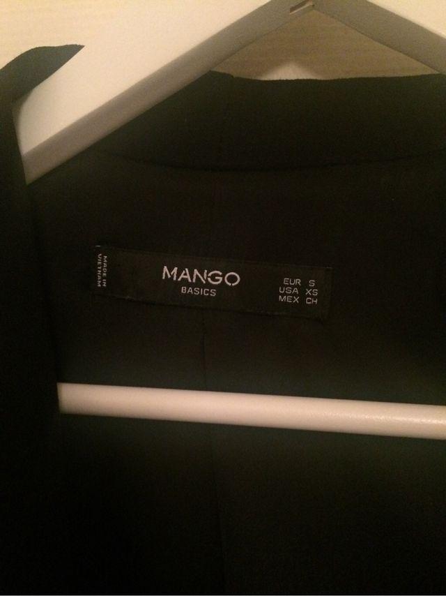 Blazer Mango noir