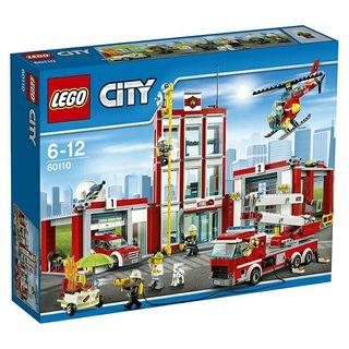 LEGO 60110 ESTACIÓN DE BOMBEROS NUEVO