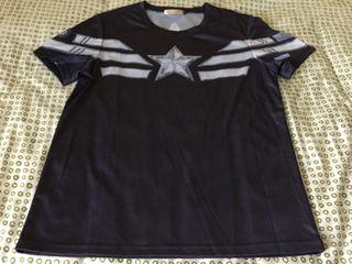 Camiseta técnica capitan america