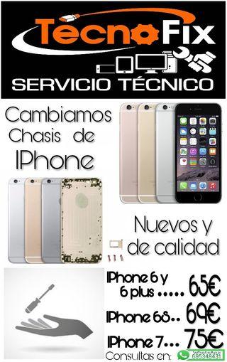CAMBIO CHASIS IPHONE