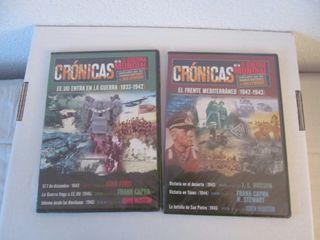 DVD Crónicas de la II Guerra Mundial 2 DVD