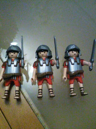 lote de 3 soldados centuriones