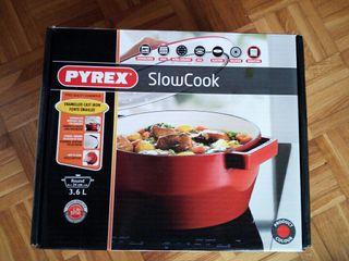 Cacerola pirex slow cook