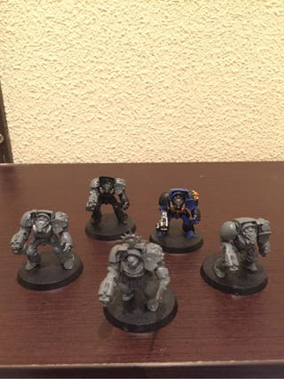 Warhammer Terminator squad