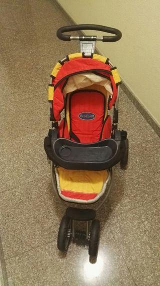 silla de paseo de tres ruedas para muñecas,