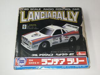 Lancia Rally Atcomi radio control escala 1/20