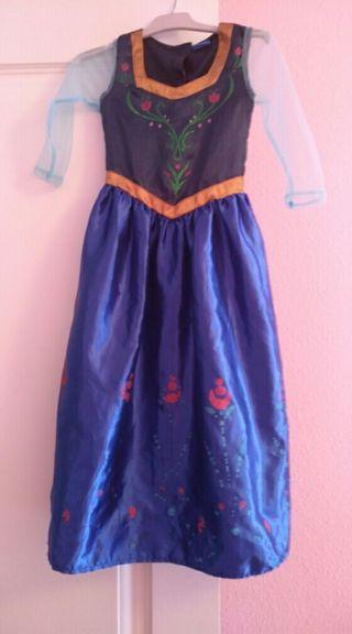 disfraz de anna Frozen