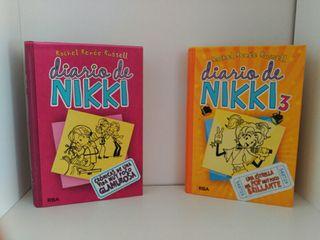 Diario de Nikki 1 y 3.