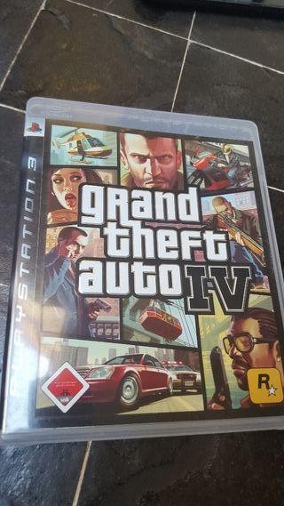 juego Gta IV Ps3