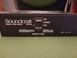 fuente alimentacion Soundcraft Cps150 nueva