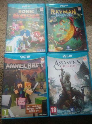 Wii U 32 Gb + 3 Juegos