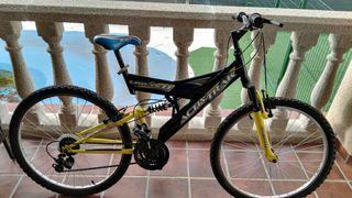 bicicleta con doble amortiguacion