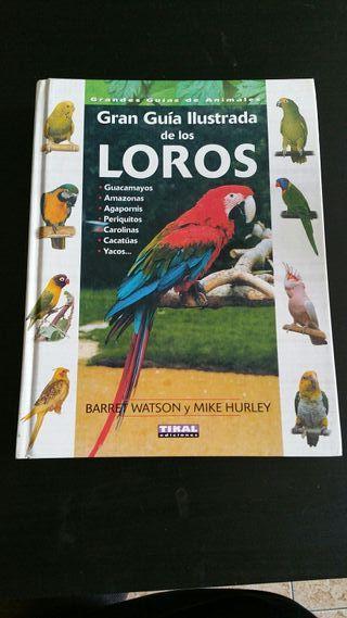 Libro Guía Ilustrada de los Loros