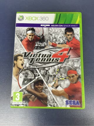 Juego Xbox Virtua Tenis 4