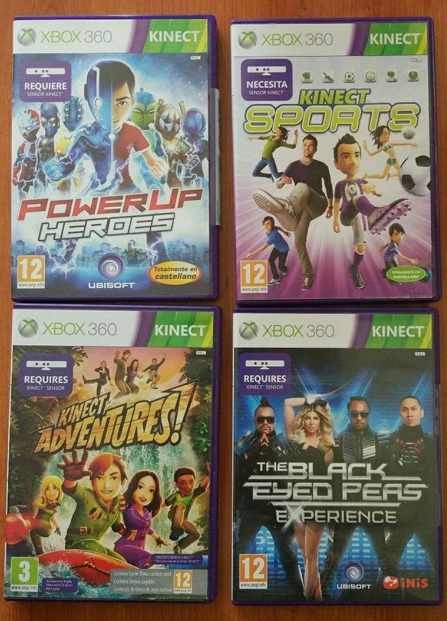 Juegos Kinect Xbox 360 De Segunda Mano Por 6 En Alcala De Guadaira