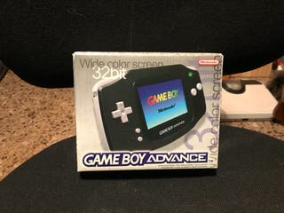 Gameboy advance negra