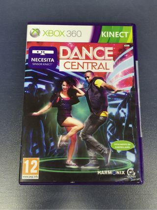 Juego Dance Central Xbox 360