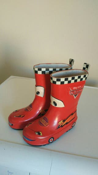 botas de agua cars numero 26