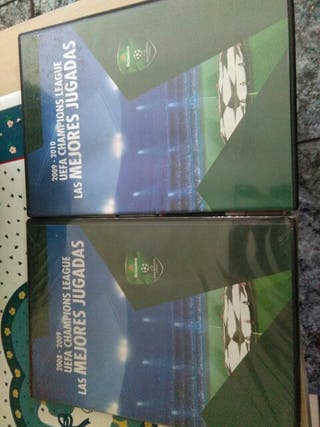 Dvd,s.UEFA CHAMPIONS LEAGUE., used for sale  UK