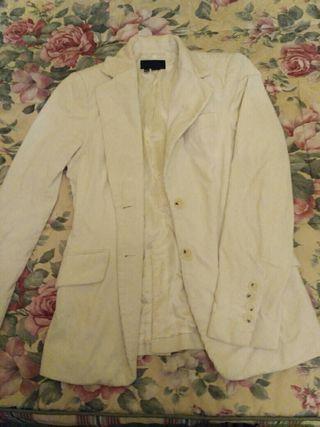 chaqueta americana de pana