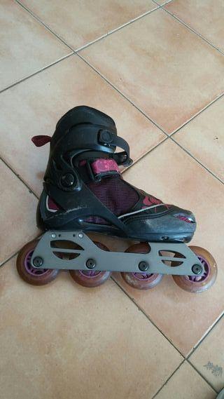 patines de ruedas linieales