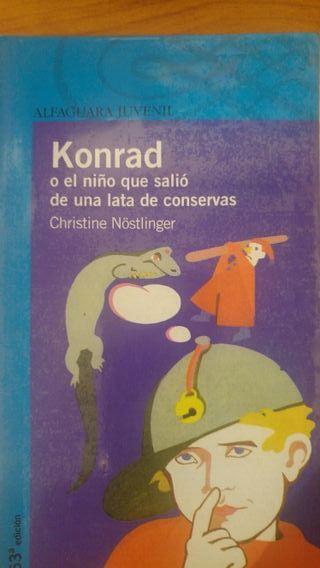 Konrad o el niño que salió de un lata de conservas