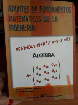 libro apuntes de fundamentos matemáticos de la ing