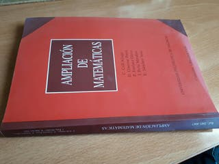 libro ampliación de matemáticas ingeniería técnica