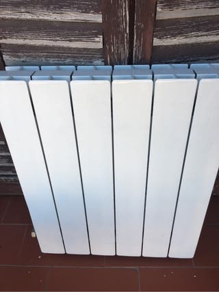 Placa radiador gas