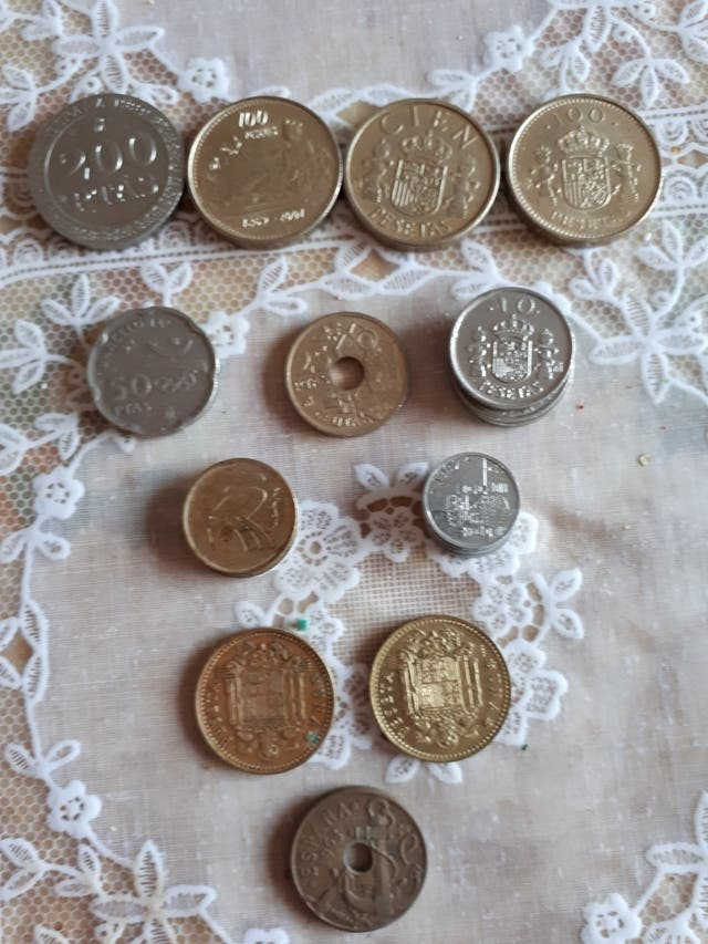 Monedas de pesetas