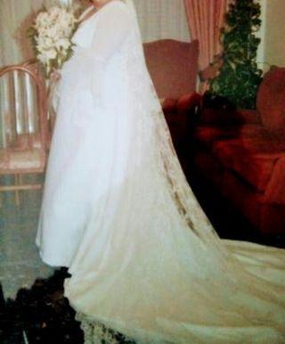 vestido de novia talla grande de segunda mano en albacete en wallapop