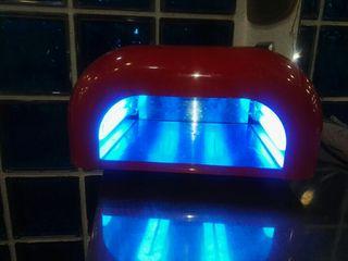lampara uv secador esmalte