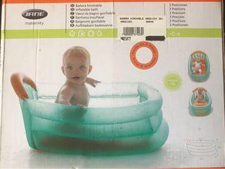 Vasca Da Bagno Gonfiabile Jane : Hamaca bañera hinchable jane y termómetro bebé de segunda