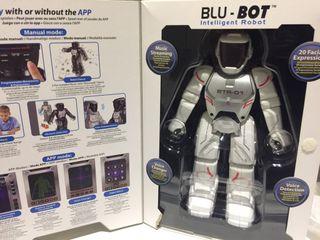 Robot inteligente e interactivo blu-bot para niños