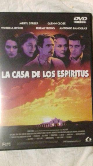 Dvd La Casa de los Espiritus