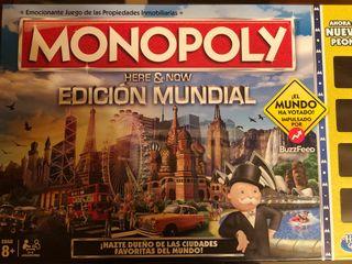 Monopoly edición mundial nuevo