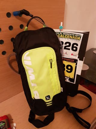 polar m400 y mochila de hidratacion