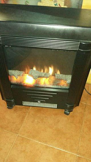 Estufa eléctrica (chimenea)