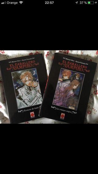 Libros vampire knight