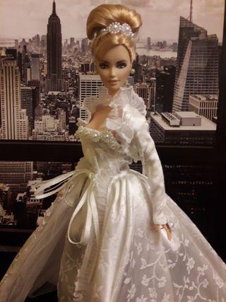 Barbie Moda Novia Realeza.