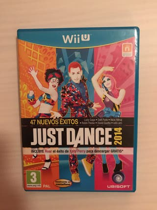 Juego Just dance 2014 Wii u