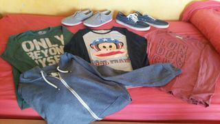 Lote de ropa de chico (T.12-14/S)
