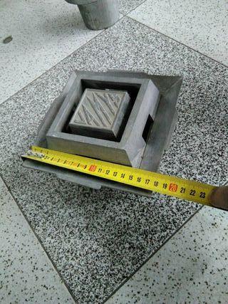 sumidero aluminio inox
