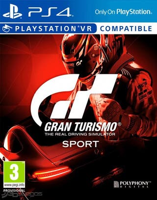 Juego Ps4 Gran Turismo Sport (cambio)